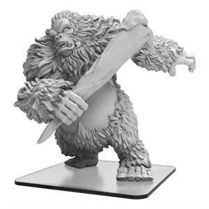 Monsterpocalypse: White Dajan - Empire of the Apes Monster (resin) ^ OCT 2019