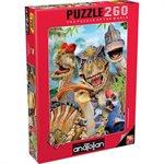 Puzzle: 260 Dino Selfie