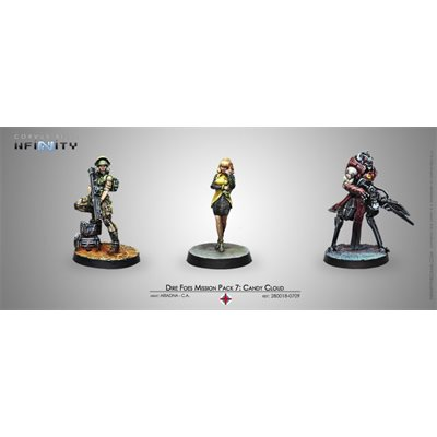 Infinity: Combined Army Dire Foes Mission Pack 7: Candy Cloud