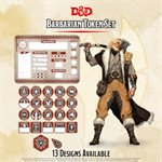 Dungeons & Dragons: Barbarian Token Set (Player Board & 22 tokens) ^ Q4 2020