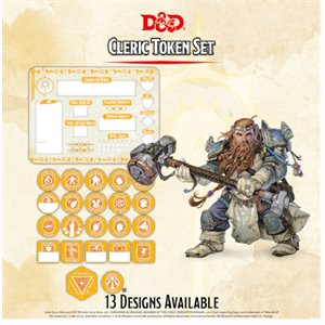 Dungeons & Dragons: Cleric Token Set (Player Board & 22 tokens) ^ Q4 2020
