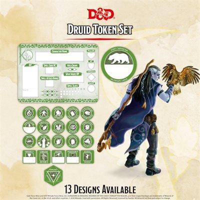 Dungeons & Dragons: Druid Token Set (Player Board & 22 tokens) ^ Q4 2020