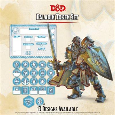 Dungeons & Dragons: Paladin Token Set (Player Board & 22 tokens) ^ Q4 2020