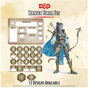 Dungeons & Dragons: Ranger Token Set (Player Board & 22 tokens) ^ Q4 2020