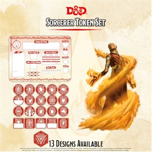 Dungeons & Dragons: Sorcerer Token Set (Player Board & 22 tokens) ^ Q4 2020