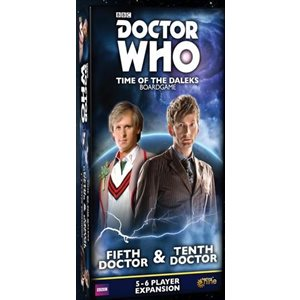 Doctor Who Time Of The Daleks: 5-6 Player Exp: Fifth Doctor & Tenth Doctor ^ Jun 2019