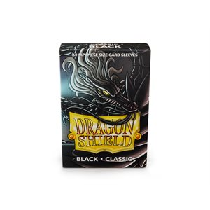 Sleeves: Dragon Shield Japanese Black (60)