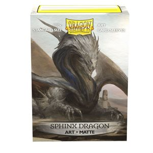 Sleeves: Dragon Shield Limited Edition Matte Art: Sphinx Dragon (100) ^ MAR 27 2020
