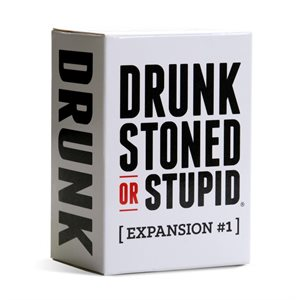 Drunk Stoned or Stupid: Expansion #1 (No Amazon Sales)