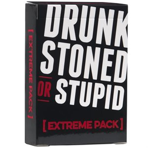Drunk Stoned or Stupid: Extreme Pack (No Amazon Sales)