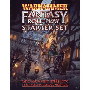 Warhammer Fantasy Roleplay 4th Edition Starter Set (BOOK) ^ June 2019
