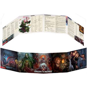Dungeons & Dragons: Dungeon of the Mad Mage DM Screen