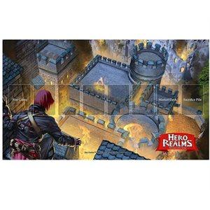 Hero Realms: Fire Bomb Playmat
