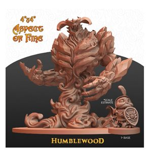 "Humblewood Minis: Aspect of Fire (4""x4"") (No Amazon Sales)"