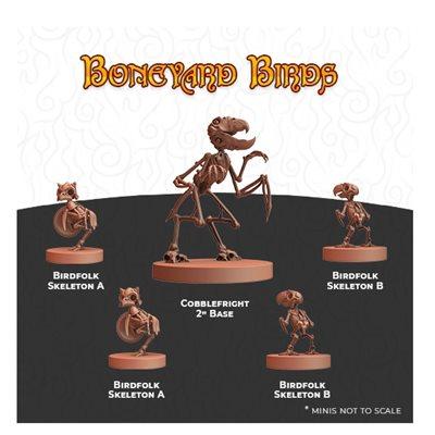 Humblewood Minis: Boneyard Birds (No Amazon Sales)
