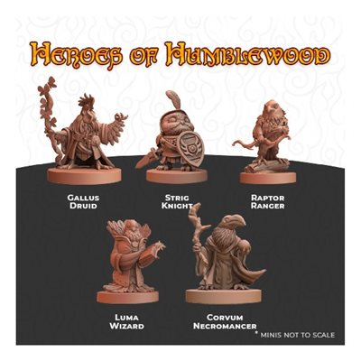 Humblewood Minis: Heroes of Humblewood (No Amazon Sales)