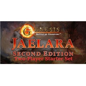 Genesis: Battle of Champions Jaelara Second Edition 2 Player Vs. Deck Idris vs Ra'Ha ^ Q3 2021