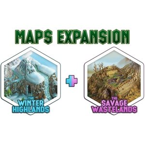 Tiny Epic Tactics: Map Pack Expansion (No Amazon Sales)