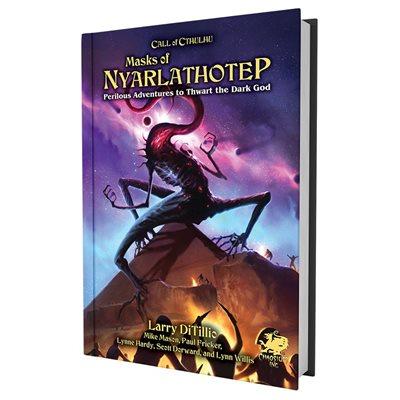 Call of Cthulhu: Masks of Nyarlathotep Slipcase Two Volume Set (BOOK)