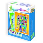 Aquarellum: Magic Canvas Mini Elephants (Multi) (No Amazon Sales)