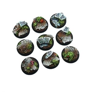 Bases: Mystic, Round Lipped 30mm (5)