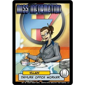 Sentinels of the Multiverse: Miss Information (No Amazon Sales)