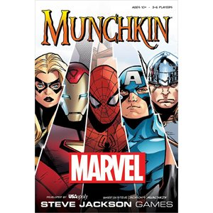 Munchkin Marvel (No Amazon Sales)