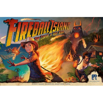 Fireball Island (No Amazon Sales)