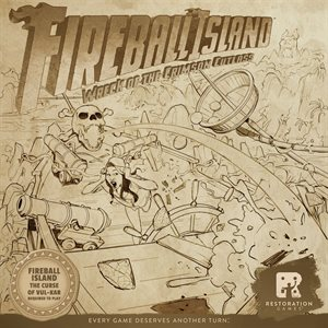 Fireball Island: Expansion - Wreck of Crimson Cutlass Expansion