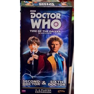 Doctor Who Time Of The Daleks: 5-6 Player Exp: Second Doctor & Sixth Doctor ^ Jun 2019