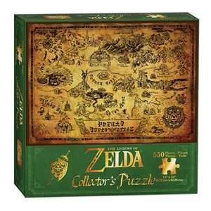 Puzzle (550 pc): The Legend of Zelda™ Hyrule Map (No Amazon Sales)