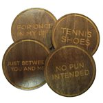 Puzzle Coasters (Set of 4)