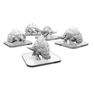 Monsterpocalypse: Protector Terrasaur: Raptix & Brontox (metal / resin)