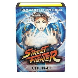 Sleeves: Dragon Shield Limited Edition Art Classic: Street Fighter Chun-Li