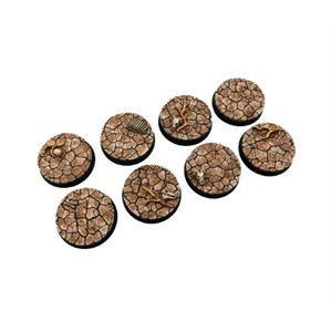 Bases: Wasteland, Round 32mm (4)