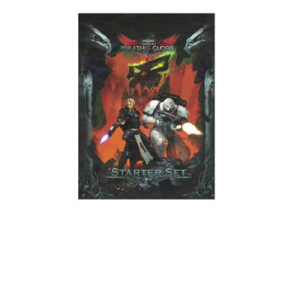 Warhammer 40K Roleplay: Wrath & Glory Rulebook (BOOK) (No Amazon Sales)