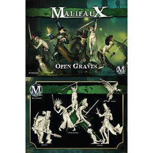 Malifaux 2nd Ed: Resurrectionists: Open Graves Crew (Updated to M3E)
